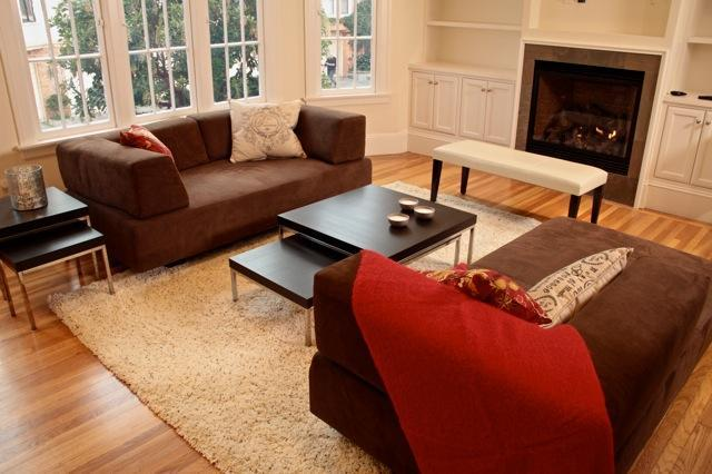 Livingroom - SPACIOUS, NEWLY-REMODELED FLAT w/PARKING - San Francisco - rentals
