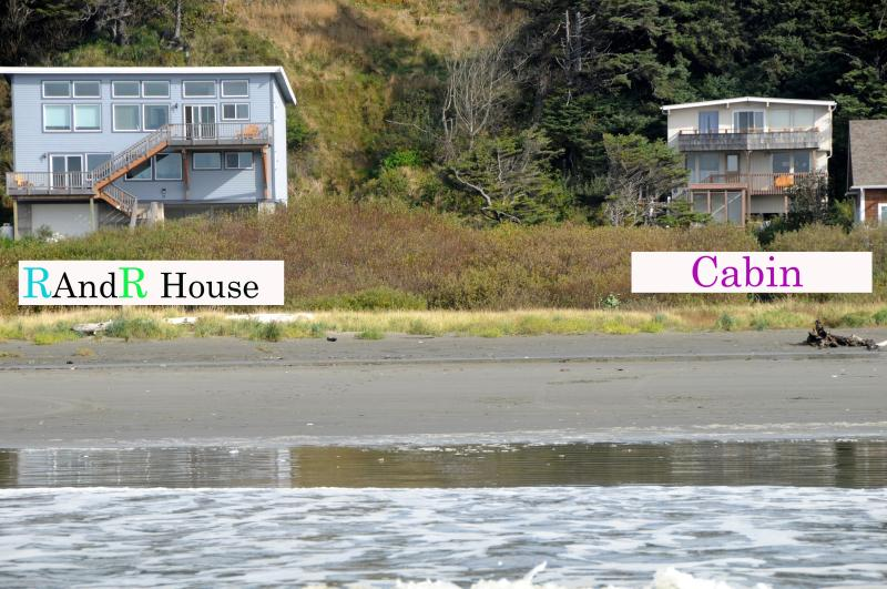 R&R House & Cabin right on the beach.  Groups of up to 34, or just a weekend getaway for two! - R&R House - Retreats and Reunions for up to 34 - Moclips - rentals