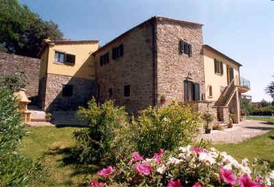 Exterior of Ippo Holiday Cottage - Charming 1 bedroom apartment close to Cortona - Camucia - rentals