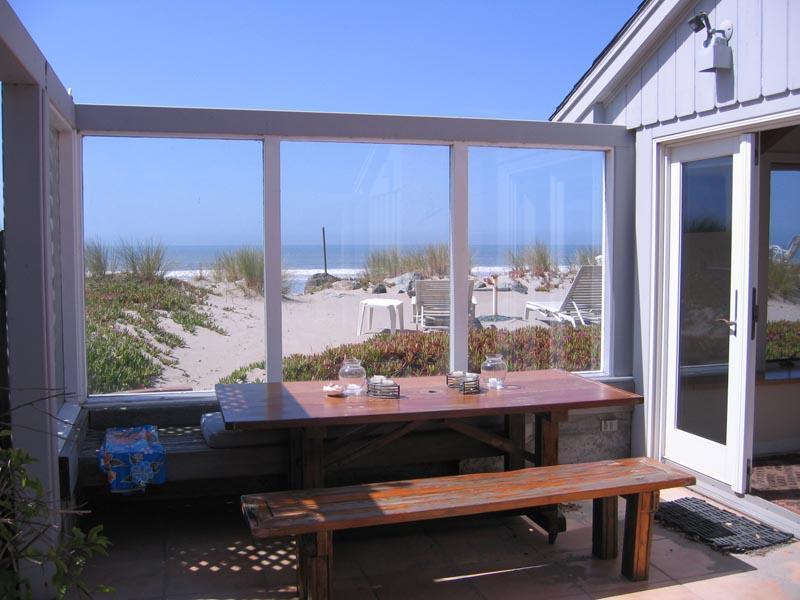 Patio Area - The Chapman House - Stinson Beach - rentals