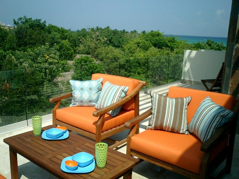 Enjoy a margarita while watching the sun set over the ocean - 5 Star Penthouse Best Location Reasonably Price - Playa del Carmen - rentals
