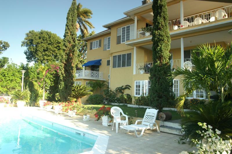 Pool view - Bogue Villa - Montego Bay - rentals