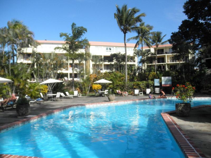 Welcoming communal pool - Oversized 1-bedroom bungalow in - Sosua - rentals