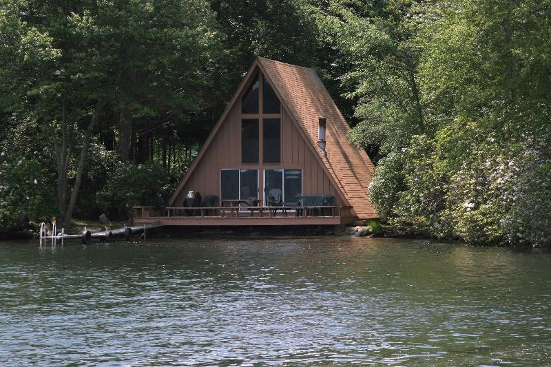 A Frame (from water) - Private island  Retreat and Family Reunions- - East Hampton - rentals