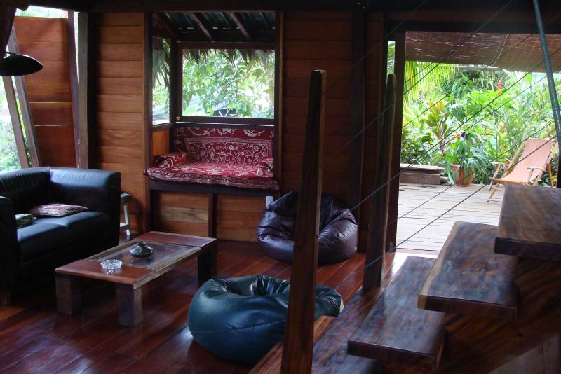 living room - Isabelle's Garden Home with Jacuzzi close to beach - Manzanillo - rentals