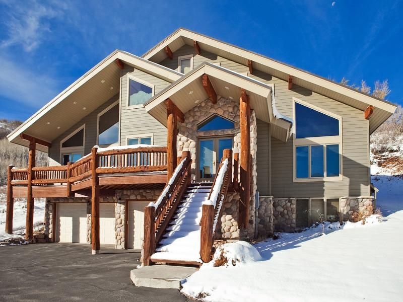 Front View - Bella Vista   7 Bedroom Luxury Home - Park City - rentals