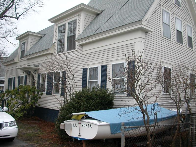 Front of House (Sailboat not Included) - Charming 3-4 Bedroom West End Provincetown House - Provincetown - rentals