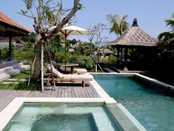 Jacuzzi & Swimming pool view - Echo Beach Vacation Rental - Villa in Canggu Kuta - Canggu - rentals