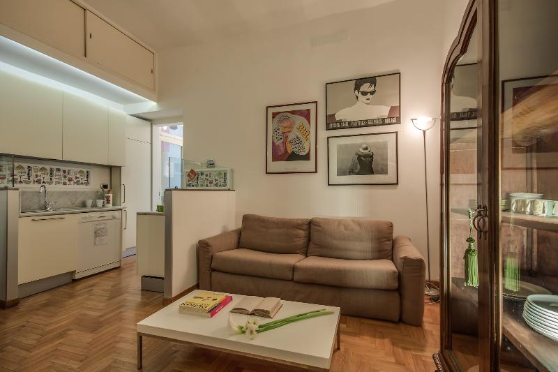 Double sofa bed - Rome Accommodation San Cosimato - Rome - rentals
