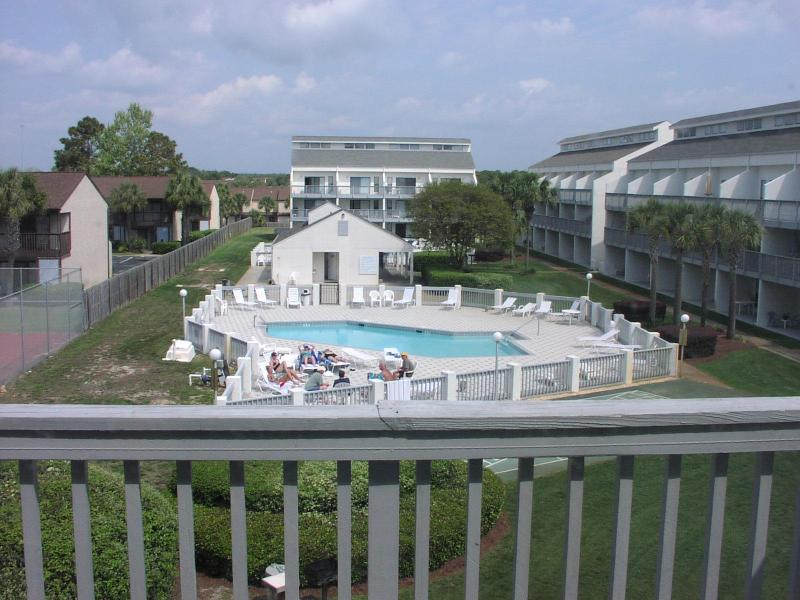 View from Balcony - Comfortable 2 Bedroom Condo with Pool and Hot Tub in Panama - Panama City Beach - rentals