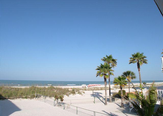 Treasure Island Gulf Front Duplex - South Side, Sleeps 4, Small Dog Friendly! - Image 1 - Treasure Island - rentals