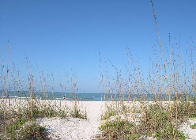 Treasure Island Gulf Front Duplex - North Side, sleeps 6, Small Dog Friendly! - Image 1 - Treasure Island - rentals