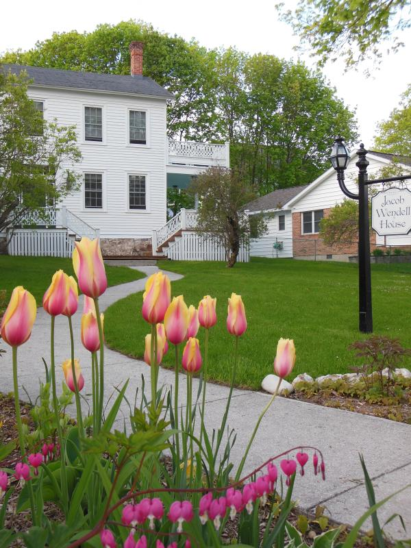Spring at the Jacob Wendell House - Historic Jacob Wendell House, Mackinac Island - Mackinac Island - rentals