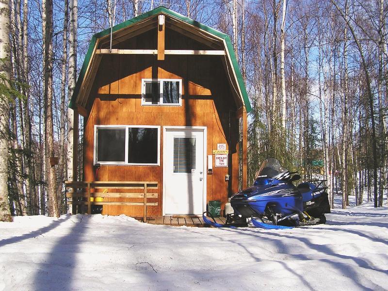 Cabin 2 Winter - ALASKA'S Winter Park Cabins - Willow - rentals