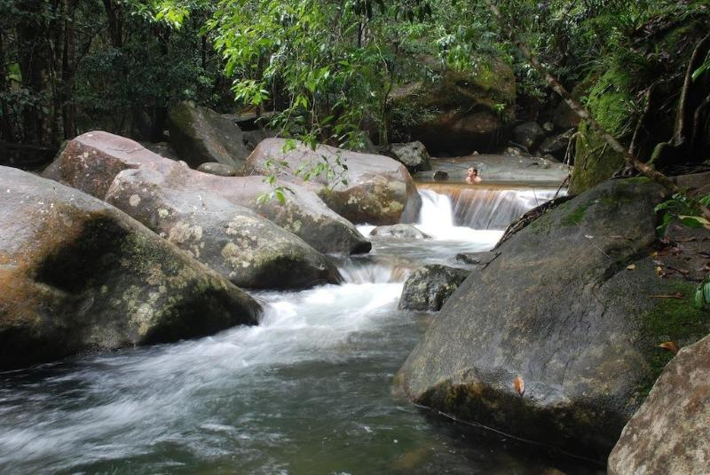 Private swimming holes and waterfalls - Stonewood Retreat - Daintree Accommodation - Diwan - rentals
