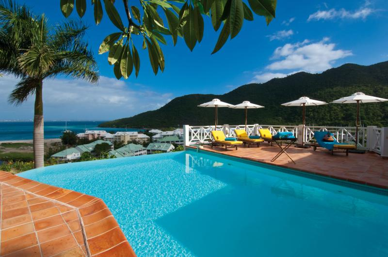 Casa Branca, Anse Marcel, St Martin - CASA BRANCA... a gorgeous tropical hideaway! Very private and quiet with lush gardens - Anse Marcel - rentals
