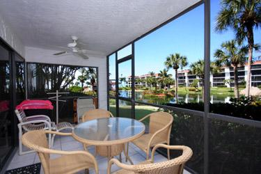 VIEW OF LANAI - Pointe Santo D3 - Sanibel Island - rentals