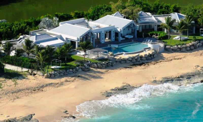 Villa Le Reve, Terres Basses, St Martin 800 480 8555 - LE REVE...a magnificent, luxurious villa with private beach area & gourmet chef - Baie Rouge - rentals