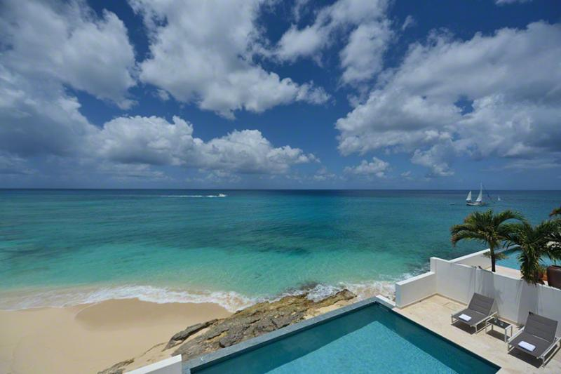 Farniente...Shore Point, Cupecoy, St Maarten 800 480 8555 - FARNIENTE...Water Front Villa, Elegant, Luxurious, Totally Secure, private access to Cupecoy Beach! - Cupecoy - rentals