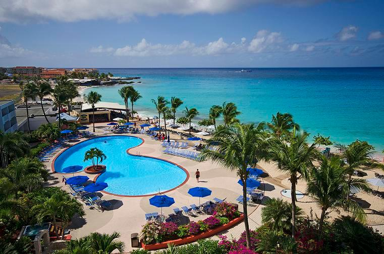 La Plage Penthouse at Maho, Saint Maarten - Oceanfront, Gated Community, Communal Pool - Image 1 - Beacon Hill - rentals