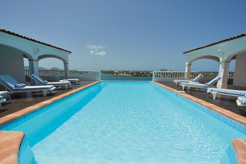 Escapade, Terres Basses, St Martin 800 480 8555 - ESCAPADE... gorgeous lagoon views and tennis court!... - Terres Basses - rentals