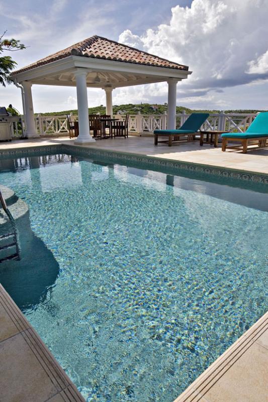 Villa Marrakesh....Dutch St Maarten - MARRAKESH... Contemporary villa with Moroccan feel and fantastic Lagoon views - Cupecoy - rentals