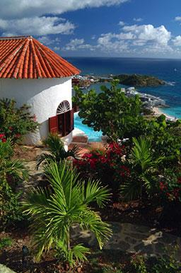 Hope Cottage...spectacular views from 1 BR villa...Oyster Pond, St Maarten - HOPE COTTAGE... - Oyster Pond - rentals