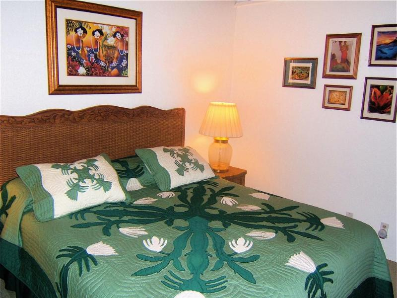 California King in Master Bedroom - ALOHA Spoken Here! Comforts of Home, Great Reviews - Waikoloa - rentals