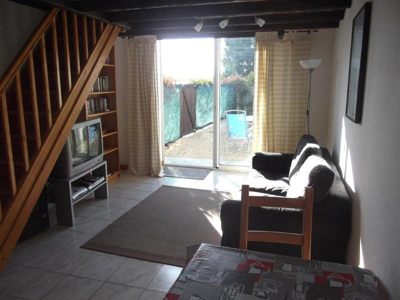 Downstairs living area - Le Chai - Farmhouse Gite in Charente Countryside - Jonzac - rentals