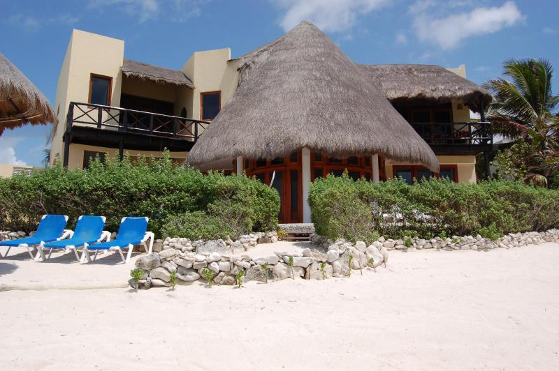 Beachfront - Stunning 3 Bdr Beachfront Paradise, Chic & Relax - Tulum - rentals