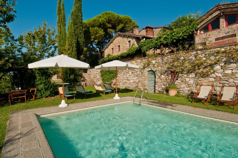 Lucca Farmhouse for Family with Views - Casa Marlia - Image 1 - Lucca - rentals