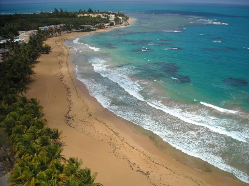 Rest of Beach from our balcony - Paradise on the Beach! - Luquillo - rentals