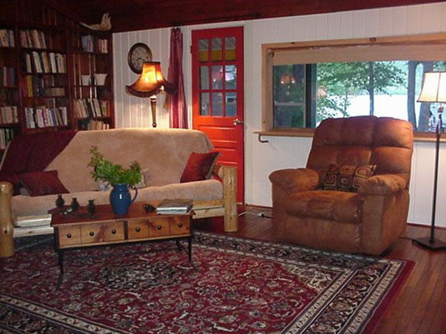 Pocomoonshine Camp- Rustic Jewel on the Lake - Image 1 - Keeseville - rentals