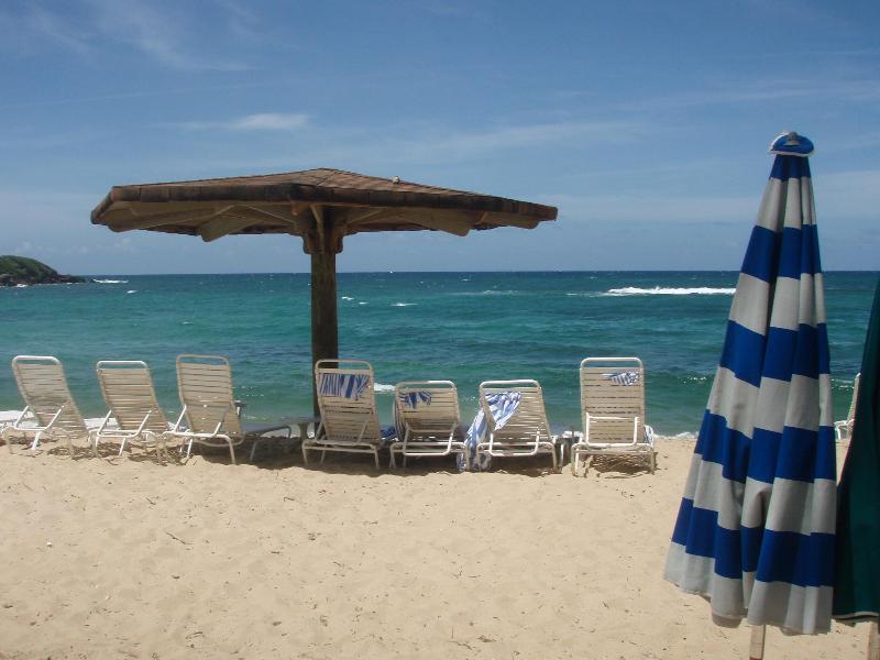 Beach outside our villa - Dorado Beach 3 BR Beach Villa near Ritz Reserve - Dorado - rentals