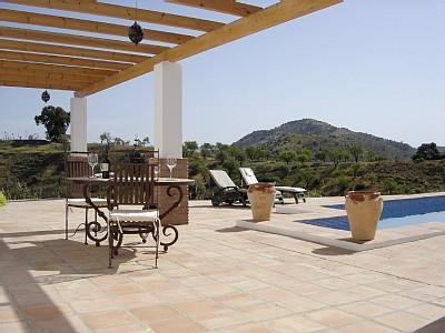 Alfresco dining - Holiday house in Andalucia countryside - Coin - rentals