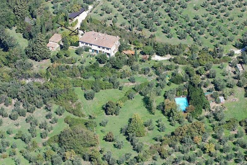 aerial view - Florence Countryside Elegant Suite with Swim Pool - Fiesole - rentals