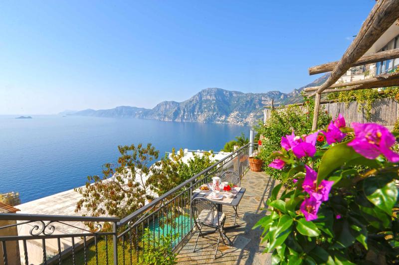 Villa Federica, amazing sea view - Image 1 - Praiano - rentals
