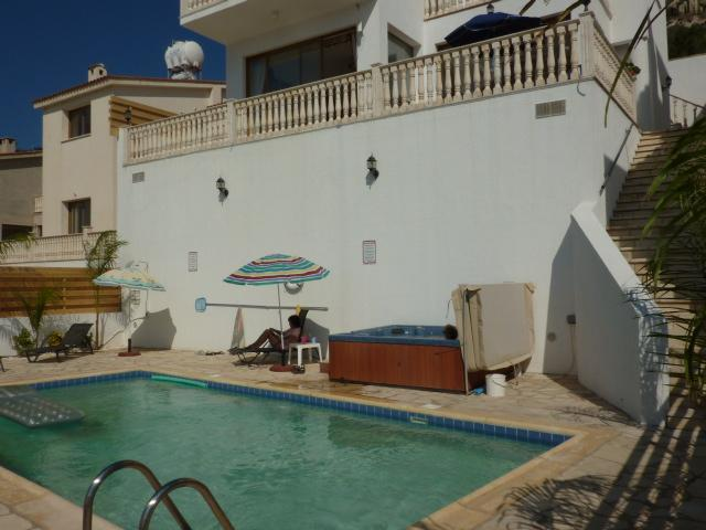 Front of Villa - Villa Athena Private pool Jacuzzi free internet - Peyia - rentals