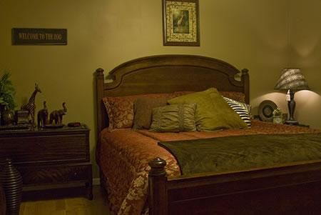 Suite with size bed and private bath - Misty Mountain B&B Overlooking Muir Valley - Rogers - rentals