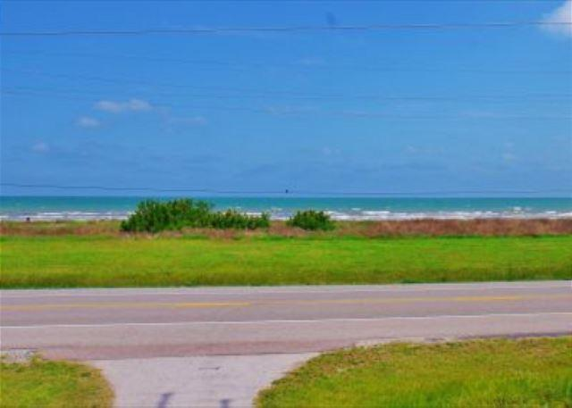 This cozy, beachview home sleeps 10, and is perfect for family get-a-ways! - Image 1 - Galveston - rentals