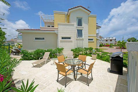 Front of 4A with private deck for sunning and dining - Luxury 3bed villa nr surfing & Oistins, sea views - Atlantic Shores - rentals