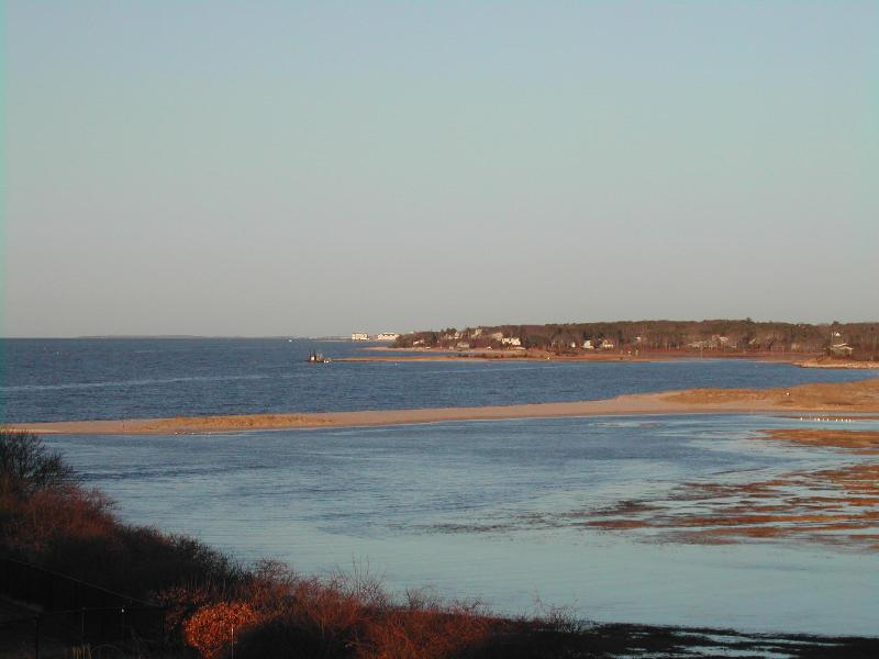 Nantucket Sound from the deck - Luxury WaterView 5 BR w/tennis Chatham Cape Cod - Chatham - rentals