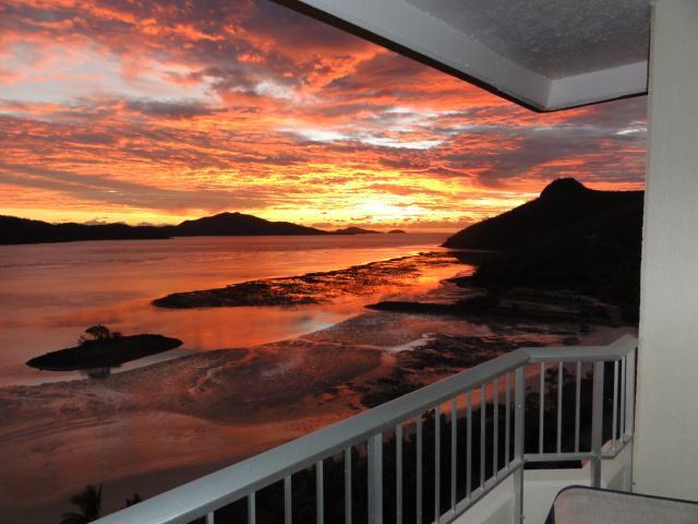 Sunrise - looking East from your balcony - Hamilton Island Beachfront - Hamilton Island - rentals