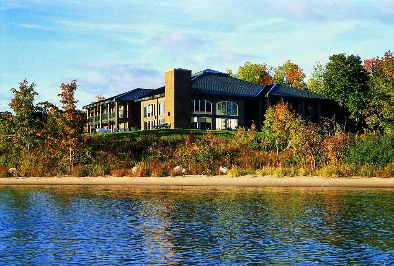 View from the Water - Northport Bay Retreat - Traverse City - rentals