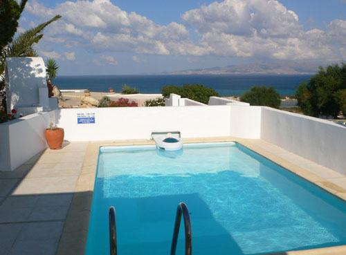 vview from pool-1 - Kamari Villa-A1-w/ private pool, in Naxos-Greece - Naxos - rentals