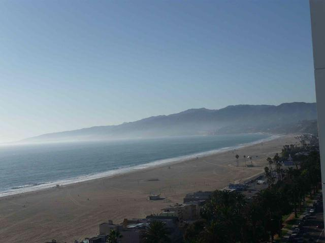 APT 1609 VIEW FROM BEDROOM AND LIVING ROOM - SANTA MONICA  PENTHOUSE OCEAN VIEWS BEST LOCATION - Santa Monica - rentals
