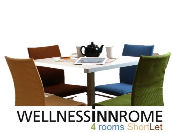 RENOVATED 2012 4Rooms 3bath w HYDROMASSAGE, - WELLNESSINNROME ShortLet 4Rooms 3Baths - Rome - rentals