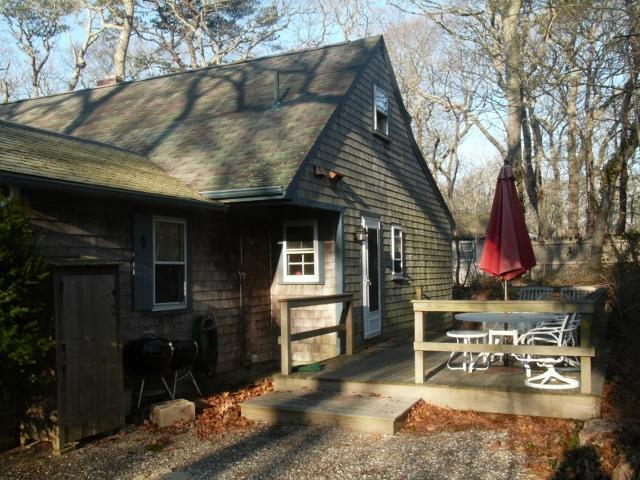Rear and deck - Cape Cod Cottage, 4 bedrooms, 2 baths, Eastham, MA - Eastham - rentals