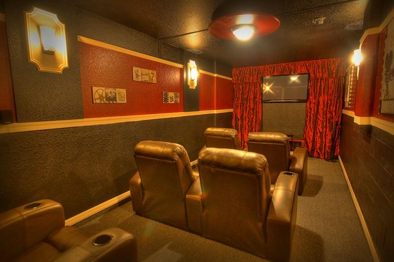 Movie Theatre to relax and unwind at the end of a hectic day. - Sunny Haven - Clermont - rentals