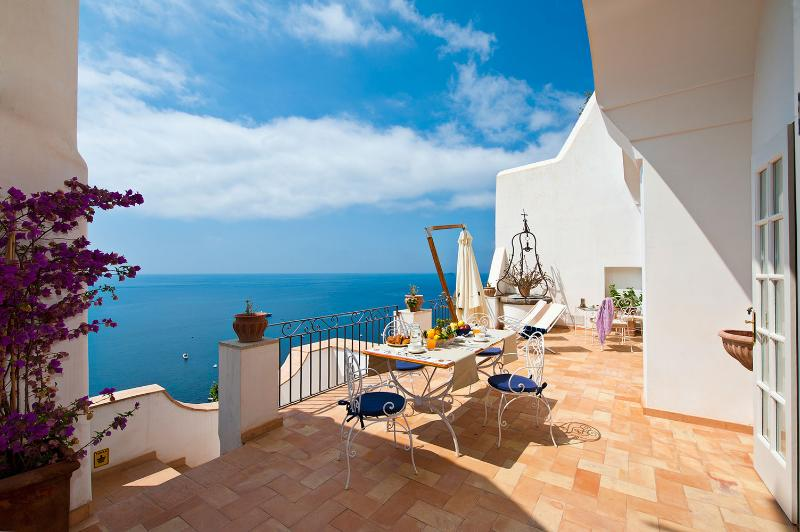 Amalfi Coast Villa in Positano with Views - Villa Galli - Image 1 - Positano - rentals